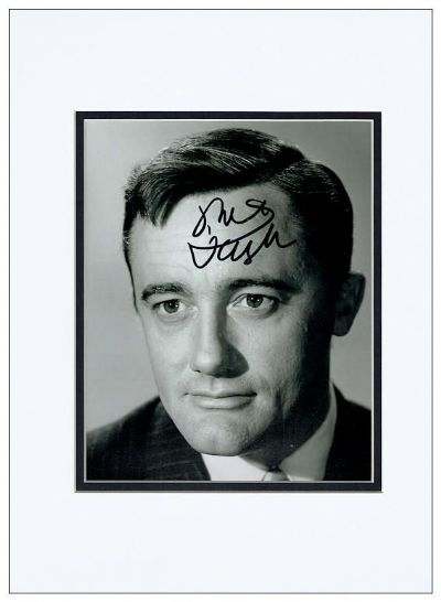 Robert Vaughn Autograph Signed Photo - The Man From Uncle